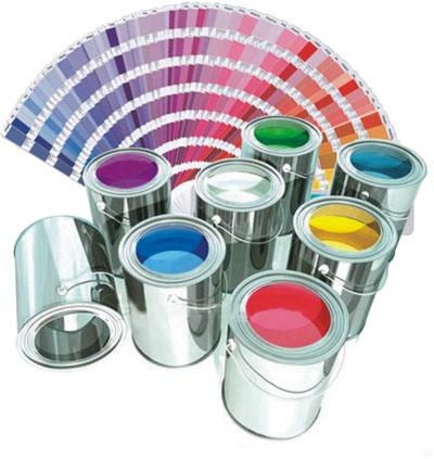 Выбор цвета краски по каталогу Monikilor Nova