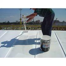 Покраска крыши жидкой резиной